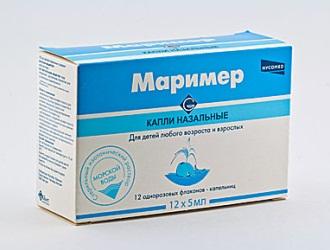 МАРІМЕР: інструкція, відгуки, аналоги, ціна в аптеках